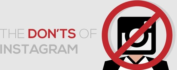Top 10 Instagram Don'ts for Businesses