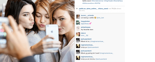5 Things you Should not Do in your Instagram Selfies