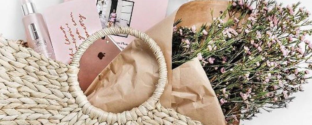Channel Your Inner French with Lovely Straw Bags