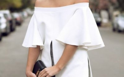 How to Rock The Off-the-Shoulder Trend in 2018
