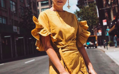 7 Ways to Style Ruffle Summer Dresses