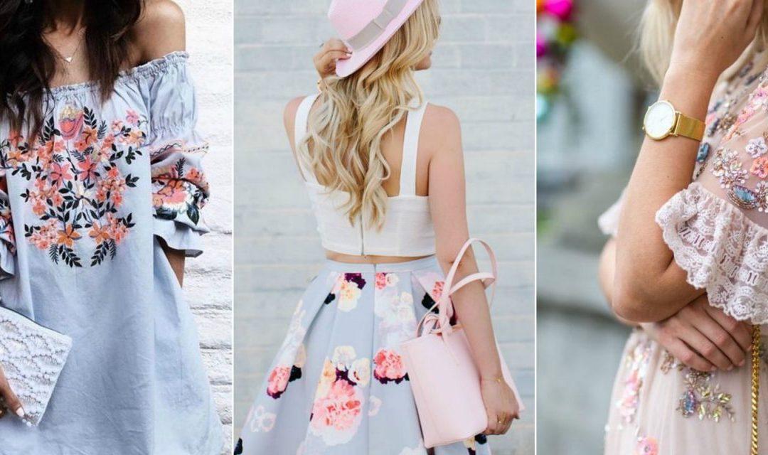 Vintage Floral Trends 2018