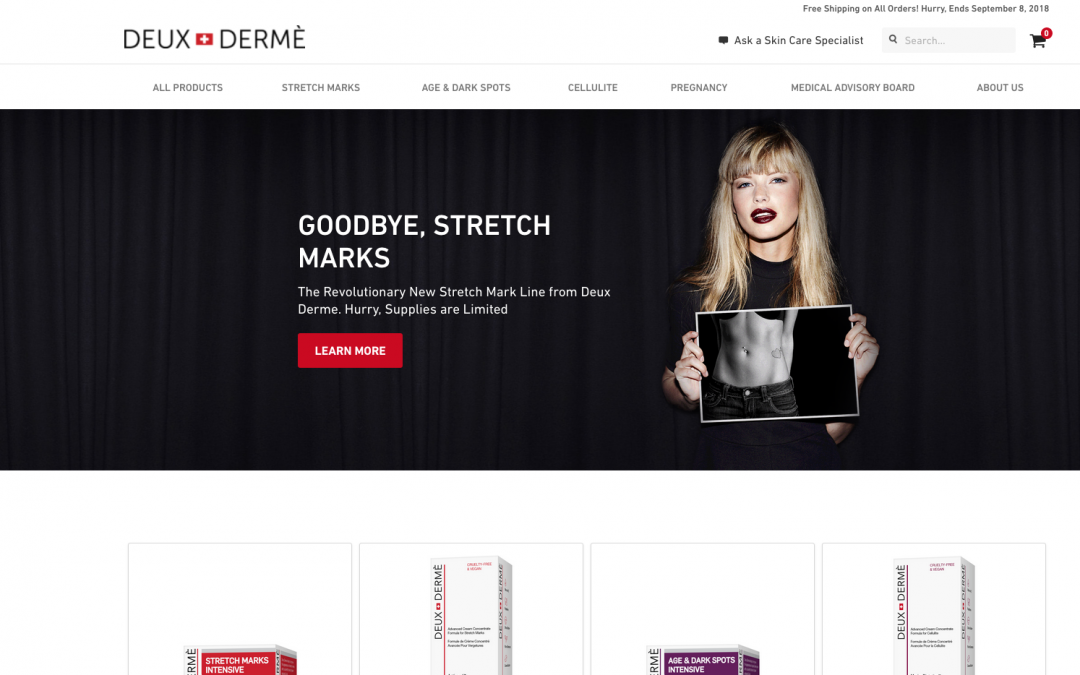 Continued Opportunity For Models to Work With Deux Derme!!