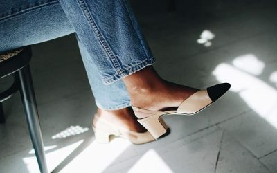 Forget About Sneakers: Style Kitten Heels